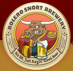 Bolero Snort ExploraBULL IPA beer Label Full Size