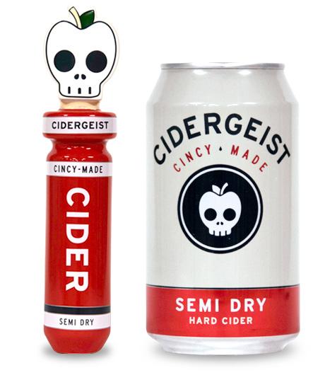 Rhinegeist Cidergeist (Semi-Dry) beer Label Full Size