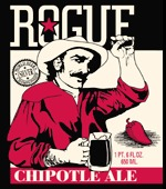 Rogue Chipotle Ale beer Label Full Size