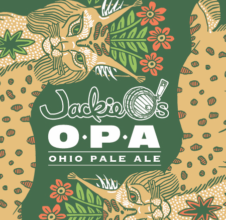 Jackie O's Ohio Pale Ale (OPA) beer Label Full Size