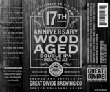Great Divide 17th Anniversary Wood Aged Double IPA Beer