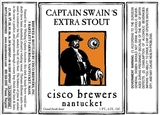 Cisco Captain Swain's Extra Stout Beer