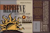Two Brothers Reprieve Schwarzbier beer