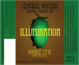 Central Waters Illumination Double IPA beer