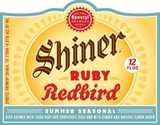 Shiner Ruby Redbird Beer