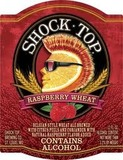 Shock Top Raspberry Wheat beer
