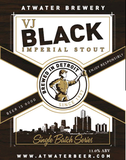 Atwater VJ Black Imperial Stout Beer