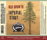Caldera Old Growth Imperial Stout beer