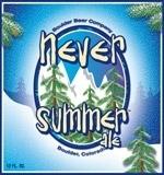 Boulder Never Summer Bourbon Barrel Aged Beer