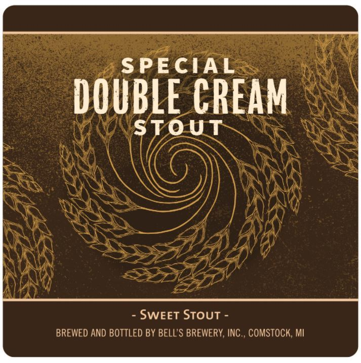 Bell's Special Double Cream Stout beer Label Full Size