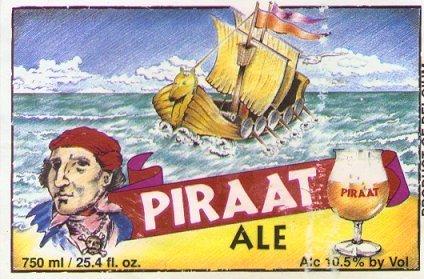 Piraat beer Label Full Size