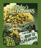 Fegley's Hop Explosion IPA beer