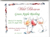 Wild Blossom Green Apple Riesling Mead beer
