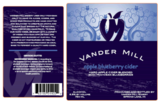 Vander Mill Apple Blueberry Cider beer