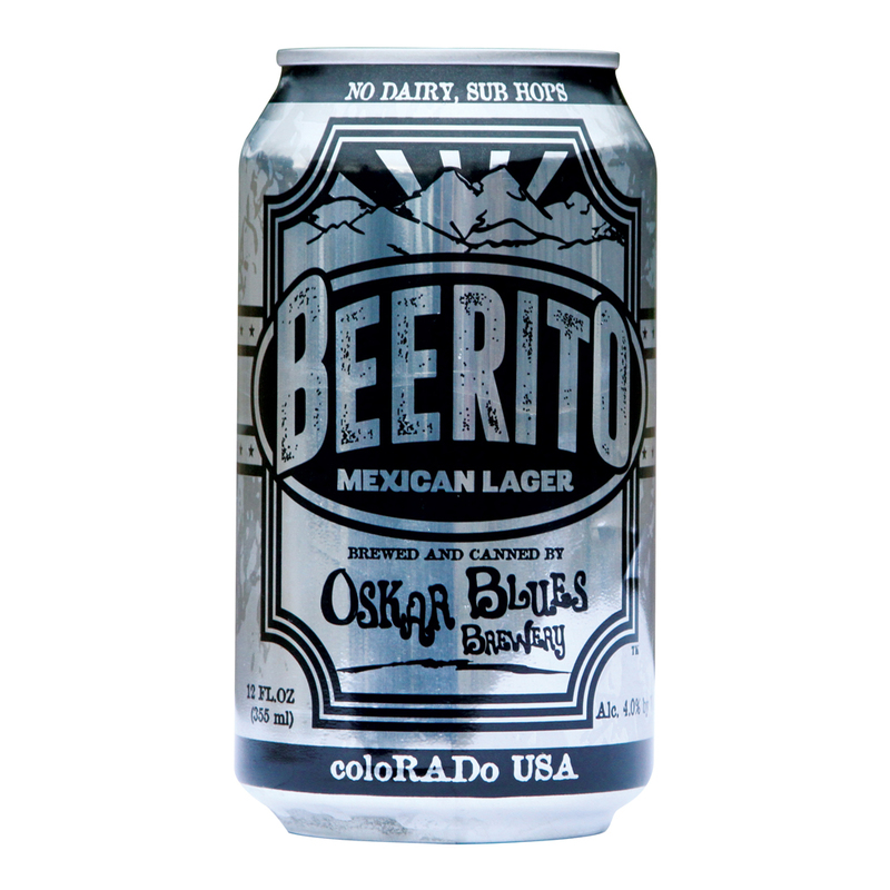 Oskar Blues Beerito Beer