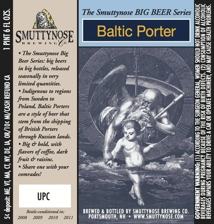 Smuttynose Baltic Porter Beer