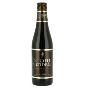 Straffe Hendrik Brugs Quadrupel beer Label Full Size