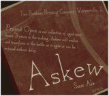 Two Brothers Askew beer