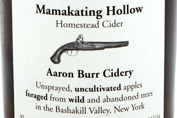 Aaron Burr Homestead East Branch Cider beer Label Full Size