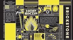 Brickstone Hop Skip beer Label Full Size