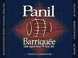 Panil Barriquee Sour Red beer Label Full Size