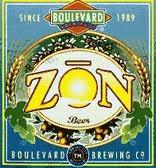 Boulevard Zon beer Label Full Size