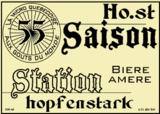 Hopfenstark Saison Station 55 beer