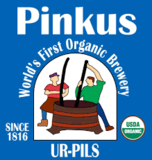 Pinkus Organic Ur Pils beer