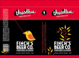 Finch's Threadless IPA beer