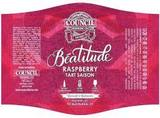 Council Beatitude Raspberry Saison Beer