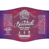 Council Beatitude: Three Berry Saison Beer