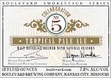 Boulevard / Cigar City Collaboration No. 5 Tropical Pale Ale Beer
