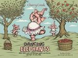 Cherry Creek Dancing Elephants Hard Cherry Apple Cider beer