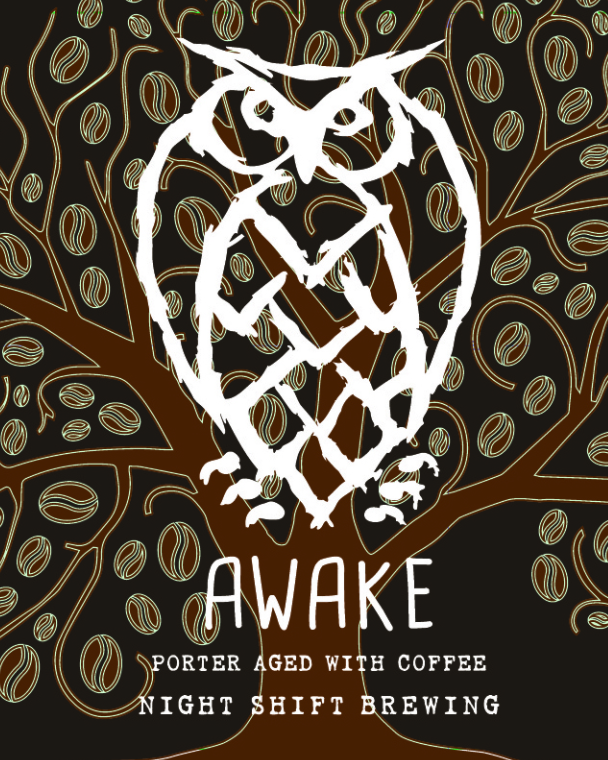Awake beer Label Full Size
