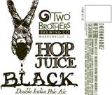 Two Brothers Hop Juice Black beer