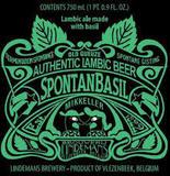 Mikkeller/Lindemans Spontanbasil beer