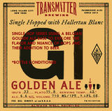 Transmitter G1 with Hallertau Blanc Beer