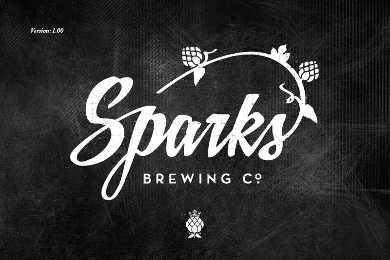 Spark's Original beer Label Full Size