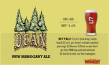 SingleCut Dean Mahogany Amber Beer