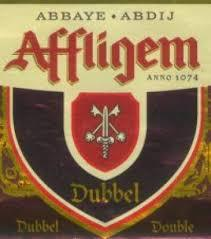 Affligem Dubbel beer Label Full Size