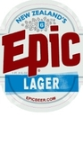 Epic Lager beer