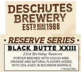 Deschutes Black Butte XXIII Beer
