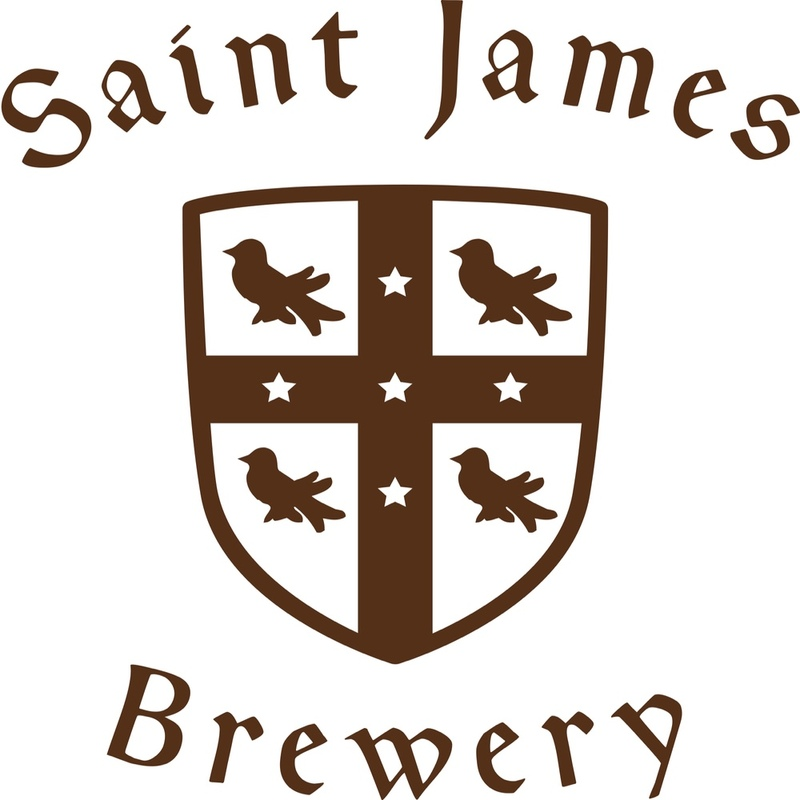 Saint James New York Belgian Style Tripel beer Label Full Size