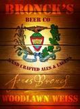 Jonas Bronck Woodlawn Weiss beer