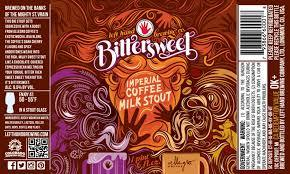 Left Hand Bittersweet Imperial Coffee Milk Stout beer Label Full Size