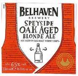 Belhaven Speyside Oak Aged Blonde Ale beer