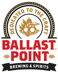 Ballast Point Calm Before The Storm w/ Coffee and Vanilla beer Label Full Size