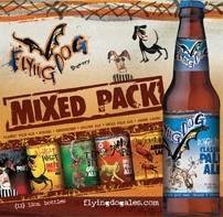 Flying Dog Variety Pack beer Label Full Size