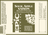Epic Sour Apple Saison Beer