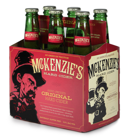 McKenzie's Hard Cider beer Label Full Size